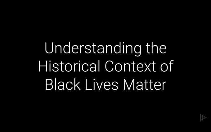 Keynotes and Webinars: Understanding the Historical Context of Black Lives Matter with Melissa Horne PhD