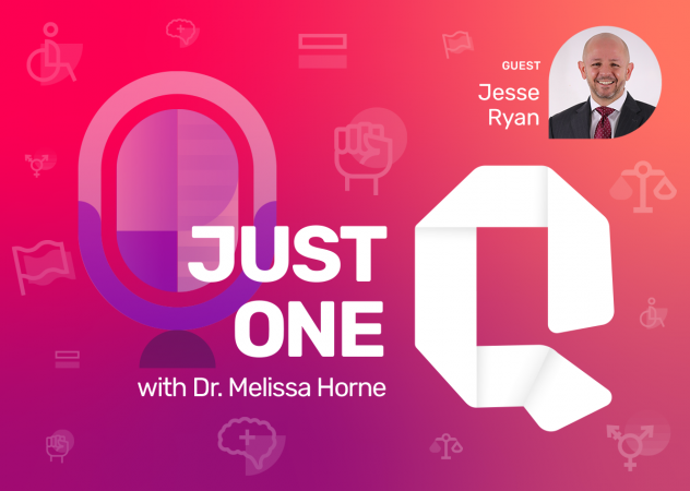 Just One Q with Dr. Melissa Horne Educational Podcast with Guest Jesse Ryan